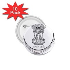 Seal Of Indian State Of Punjab 1 75  Buttons (10 Pack) by abbeyz71