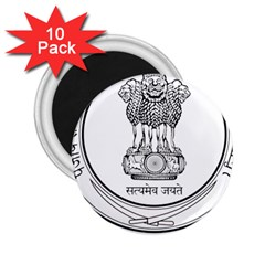 Seal Of Indian State Of Punjab 2 25  Magnets (10 Pack)  by abbeyz71