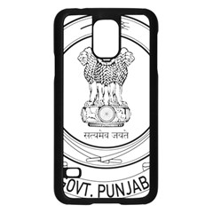 Seal Of Indian State Of Punjab Samsung Galaxy S5 Case (black) by abbeyz71