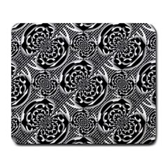 Metallic Mesh Pattern Large Mousepads by linceazul