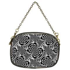 Metallic Mesh Pattern Chain Purses (two Sides)  by linceazul