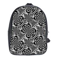 Metallic Mesh Pattern School Bags(large)  by linceazul
