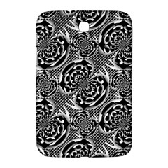 Metallic Mesh Pattern Samsung Galaxy Note 8 0 N5100 Hardshell Case  by linceazul