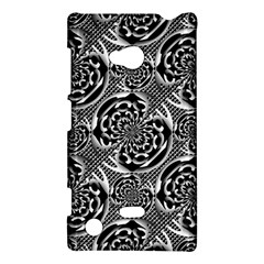 Metallic Mesh Pattern Nokia Lumia 720 by linceazul