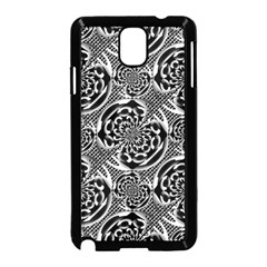 Metallic Mesh Pattern Samsung Galaxy Note 3 Neo Hardshell Case (black) by linceazul