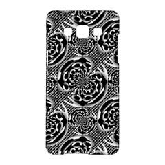 Metallic Mesh Pattern Samsung Galaxy A5 Hardshell Case  by linceazul