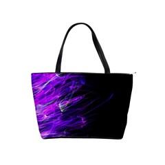 Fire Shoulder Handbags by Valentinaart
