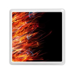 Fire Memory Card Reader (square)  by Valentinaart