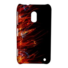 Fire Nokia Lumia 620 by Valentinaart