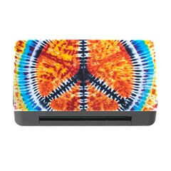 Tie Dye Peace Sign Memory Card Reader with CF by Gogogo