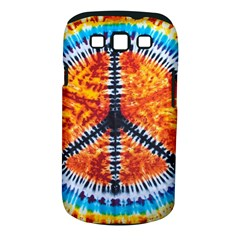 Tie Dye Peace Sign Samsung Galaxy S III Classic Hardshell Case (PC+Silicone) by Gogogo