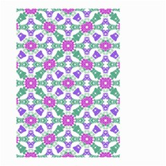 Multicolor Ornate Check Small Garden Flag (two Sides) by dflcprints