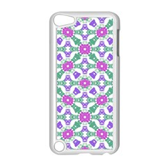 Multicolor Ornate Check Apple Ipod Touch 5 Case (white) by dflcprints