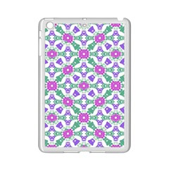 Multicolor Ornate Check Ipad Mini 2 Enamel Coated Cases by dflcprints