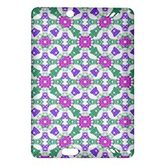 Multicolor Ornate Check Amazon Kindle Fire Hd (2013) Hardshell Case by dflcprints