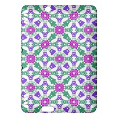 Multicolor Ornate Check Kindle Fire Hdx Hardshell Case by dflcprints