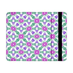 Multicolor Ornate Check Samsung Galaxy Tab Pro 8 4  Flip Case by dflcprints
