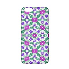 Multicolor Ornate Check Apple Iphone 6/6s Hardshell Case