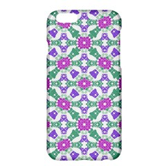 Multicolor Ornate Check Apple Iphone 6 Plus/6s Plus Hardshell Case by dflcprints