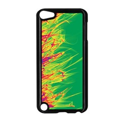 Fire Apple Ipod Touch 5 Case (black) by Valentinaart