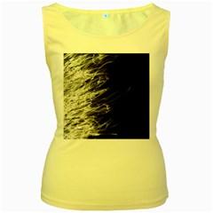 Fire Women s Yellow Tank Top