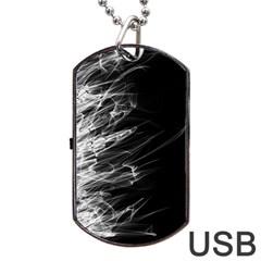 Fire Dog Tag USB Flash (Two Sides)