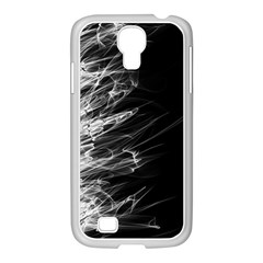 Fire Samsung GALAXY S4 I9500/ I9505 Case (White)