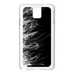 Fire Samsung Galaxy Note 3 N9005 Case (White)