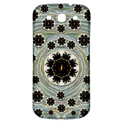 Wood In The Soft Fire Galaxy Pop Art Samsung Galaxy S3 S Iii Classic Hardshell Back Case by pepitasart