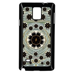 Wood In The Soft Fire Galaxy Pop Art Samsung Galaxy Note 4 Case (black) by pepitasart