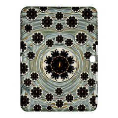 Wood In The Soft Fire Galaxy Pop Art Samsung Galaxy Tab 4 (10 1 ) Hardshell Case  by pepitasart