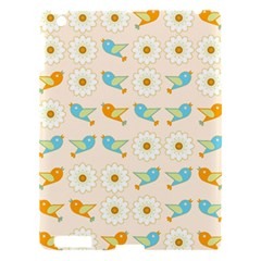 Birds And Daisies Apple Ipad 3/4 Hardshell Case by linceazul