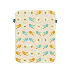 Birds And Daisies Apple Ipad 2/3/4 Protective Soft Cases by linceazul