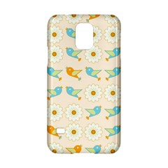 Birds And Daisies Samsung Galaxy S5 Hardshell Case  by linceazul