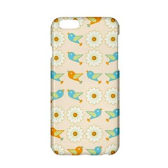Birds And Daisies Apple Iphone 6/6s Hardshell Case by linceazul