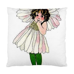 Daisy Vintage Flower Child Cute Funny Floral Little Girl Standard Cushion Case (two Sides) by yoursparklingshop