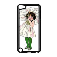 Daisy Vintage Flower Child Cute Funny Floral Little Girl Apple Ipod Touch 5 Case (black) by yoursparklingshop