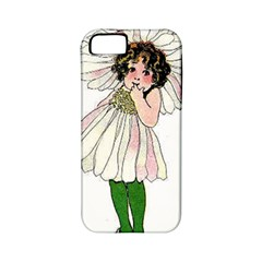 Daisy Vintage Flower Child Cute Funny Floral Little Girl Apple Iphone 5 Classic Hardshell Case (pc+silicone) by yoursparklingshop