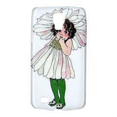 Daisy Vintage Flower Child Cute Funny Floral Little Girl Galaxy S4 Active by yoursparklingshop
