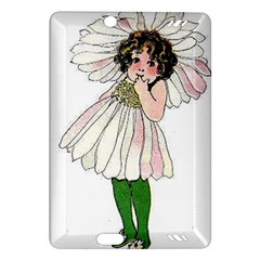 Daisy Vintage Flower Child Cute Funny Floral Little Girl Amazon Kindle Fire Hd (2013) Hardshell Case by yoursparklingshop