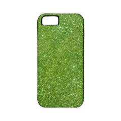 Green Glitter Abstract Texture Apple Iphone 5 Classic Hardshell Case (pc+silicone) by dflcprints