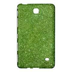 Green Glitter Abstract Texture Samsung Galaxy Tab 4 (7 ) Hardshell Case  by dflcprints