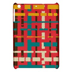 Colorful Line Segments Apple Ipad Mini Hardshell Case by linceazul