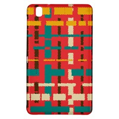 Colorful Line Segments Samsung Galaxy Tab Pro 8 4 Hardshell Case by linceazul