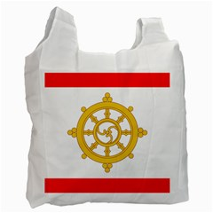Flag Of Sikkim, 1967 1975 Recycle Bag (one Side) by abbeyz71
