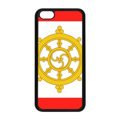 Flag Of Sikkim, 1967 1975 Apple Iphone 5c Seamless Case (black) by abbeyz71