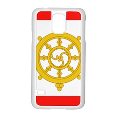 Flag Of Sikkim, 1967 1975 Samsung Galaxy S5 Case (white) by abbeyz71