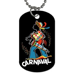 Carnaval  Dog Tag (two Sides) by Valentinaart
