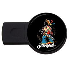 Carnaval  Usb Flash Drive Round (2 Gb) by Valentinaart