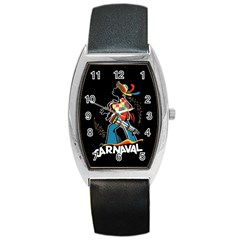 Carnaval  Barrel Style Metal Watch by Valentinaart